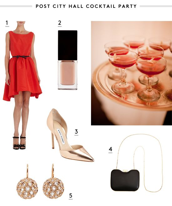 Summer wedding must-wear... post city hall cocktail party #adore