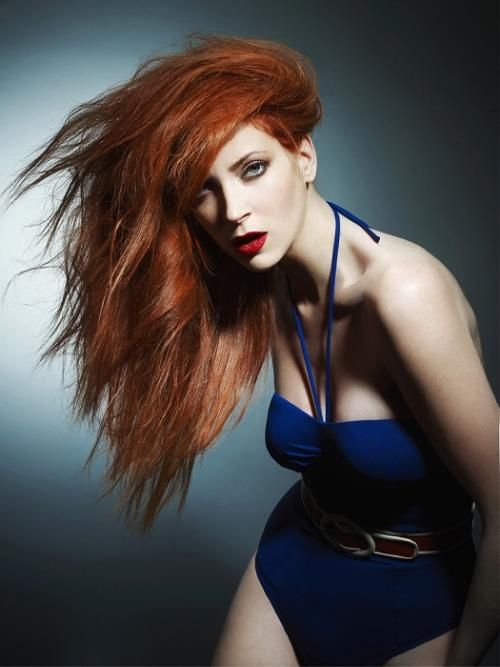 30 Nicest Red Hair With Blonde Highlights