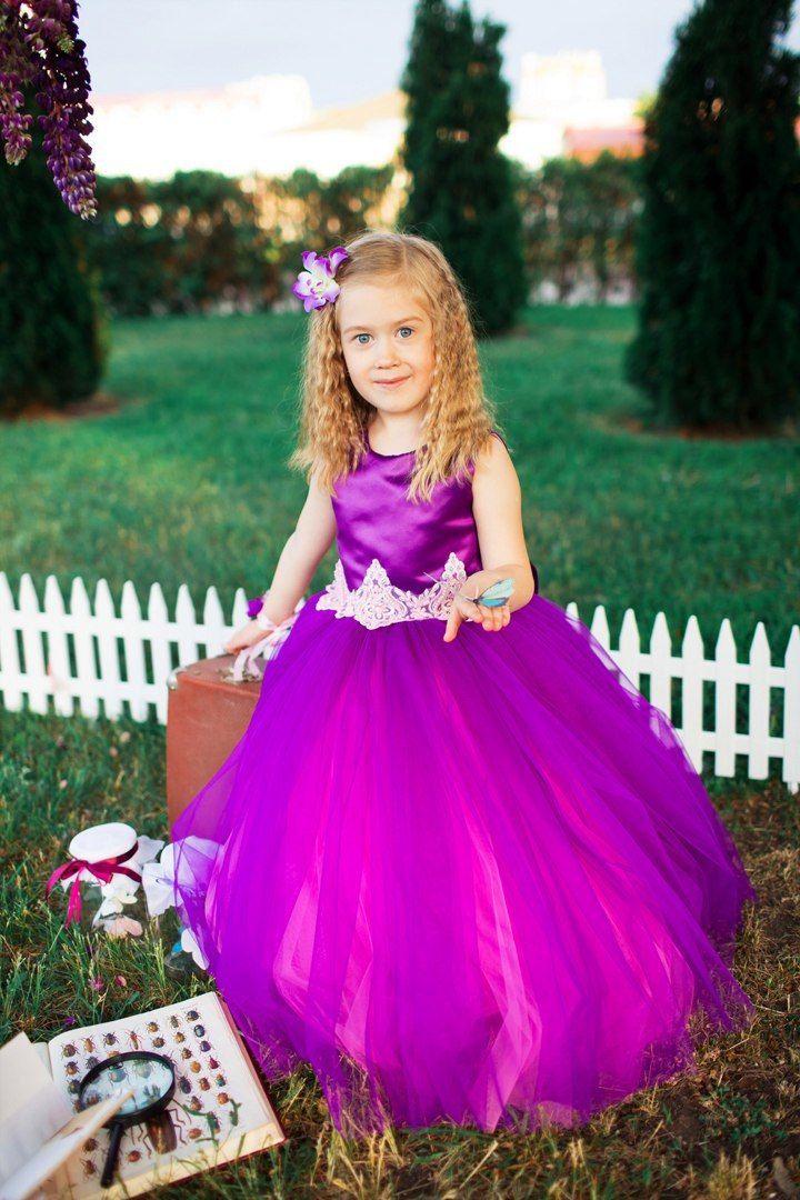 Платье принцессы Рапунцель Атлас дюпон, Пурпурный дождь (Purple rain), подкладка хлопок, сборка юбки 9/9/12. Нижние юбки Еврофатин, фламинго (Flamingo), верхняя Еврофатин, фиолетовый (purple).  https://vk.com/wall-47962129_152942