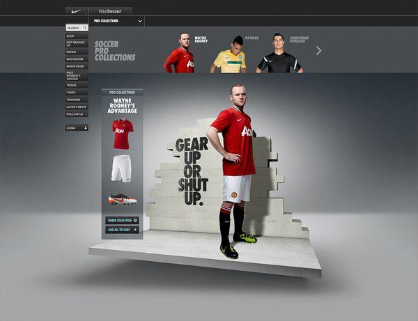 Nike Gear Up by Rasmus Wangelin, via Behance