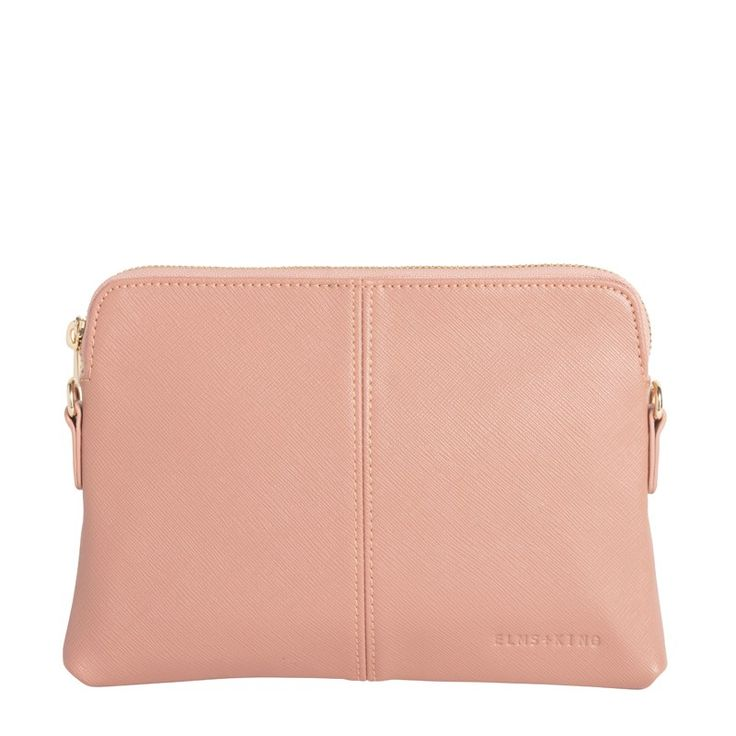 ELMS + KING - Bowery Wallet Cocoa Rose