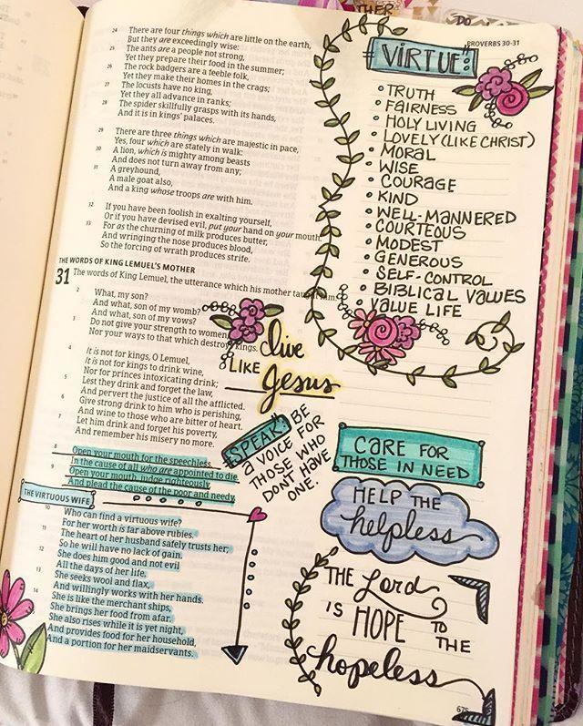 Sprüche 31 Mehr Zeit mit dem Herrn, während ich bete, vi #darum #he zu sein …   – Bibel