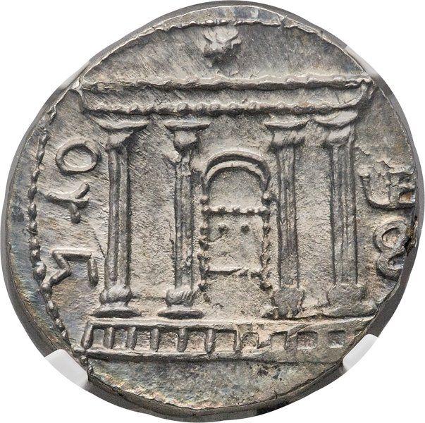 Ancients:Judaea, Ancients: JUDAEA. Bar Kokhba Revolt (AD 132-135). AR sela (28mm,14.20 gm, 1h). NGC MS 4/5 - 4/5....