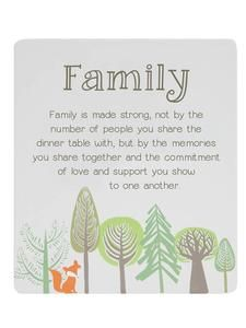 Oderings Garden Centre | Homeware - Splosh Woodlands Poem Family