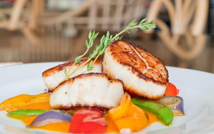 Seared Scallops with Carrot Ginger Sauce | eatfish.ca