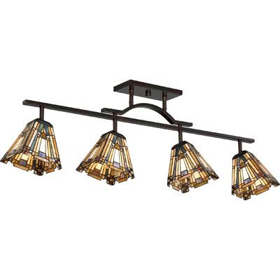 Quoizel Inglenook 4 Light Fixed Full Track Lighting Kit