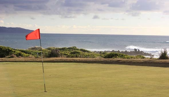 Apollo Bay Golf Course, overlooking the ocean is a beautiful spot.