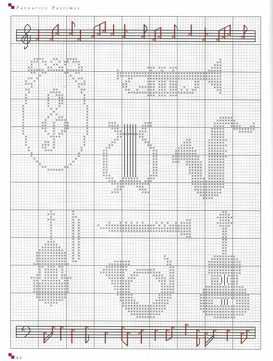 Knitting Chart Symbols Pdf : Images about musik on pinterest music notes