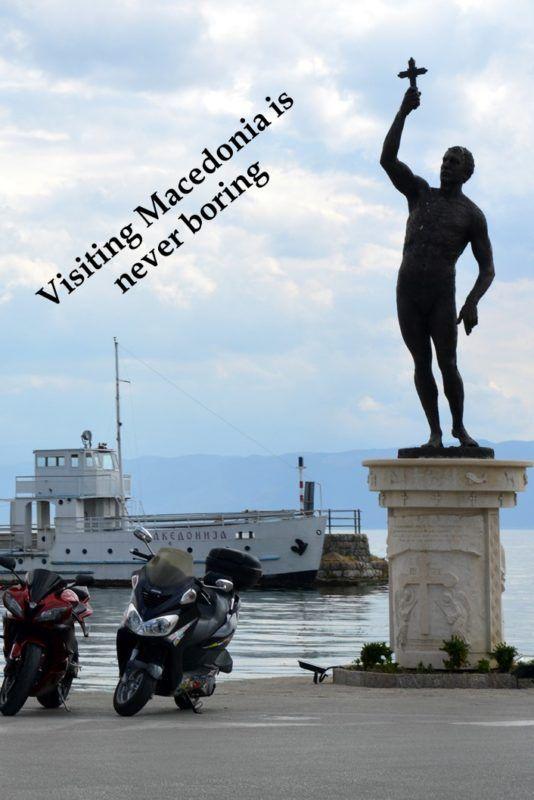 Border crossing to Macedonia, National Parks and Lake Ohrid