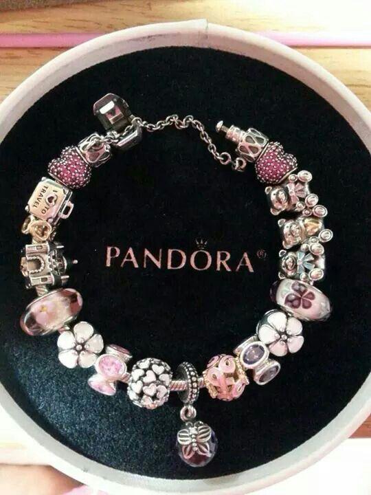 Another pink Pandora bracelet PANDORA Jewelry http://eqhea.evazface.site/ More…