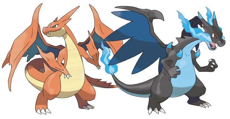 Charazard Mega-Evolution X and Y