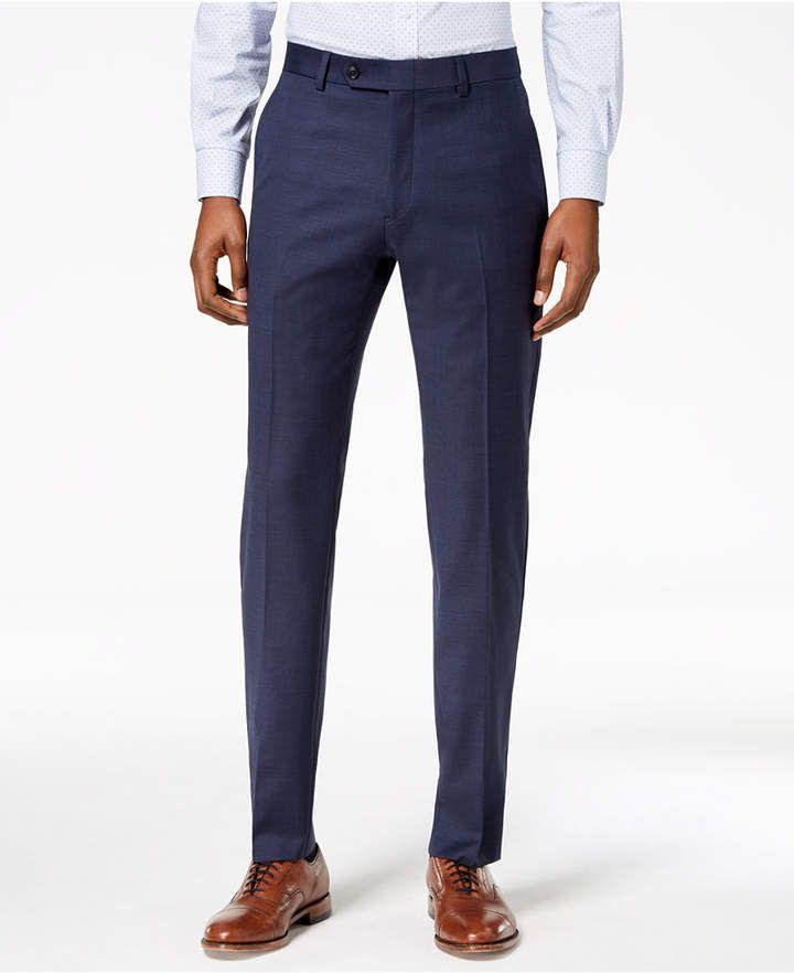 discount sale new concept uk cheap sale Tommy Hilfiger Men Modern-Fit Th Flex Stretch Suit Pants ...