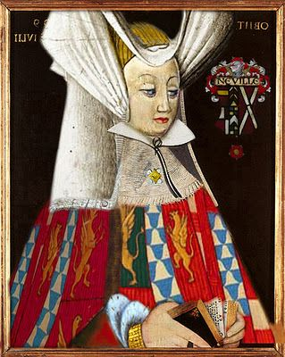 """Lady Anne Neville (1456–1485)-daughter of Richard Neville, Earl of Warwick (the """"Kingmaker""""), wife of Edward, Prince of Wales & wife of King Richard III of England. A main character in the Wars of the Roses (Yorks vs. Lancasters). She married Edward, Prince of Wales sealing an alliance to the House of Lancaster. After Edward dies, the dowager Princess of Wales married Richard of Gloucester; brother of King Edward IV-House of York. She became Queen when Richard seized the crown in 1483."""