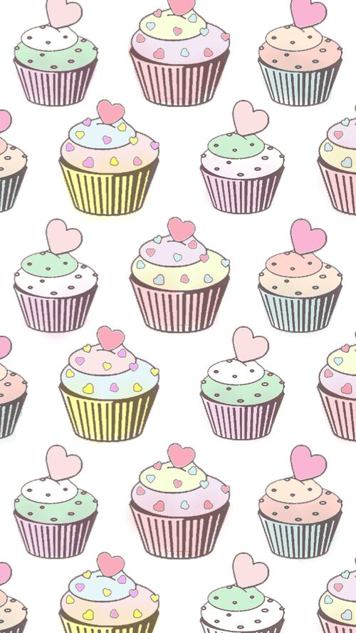 Картинка с тегом «cupcake, wallpaper, and pink»