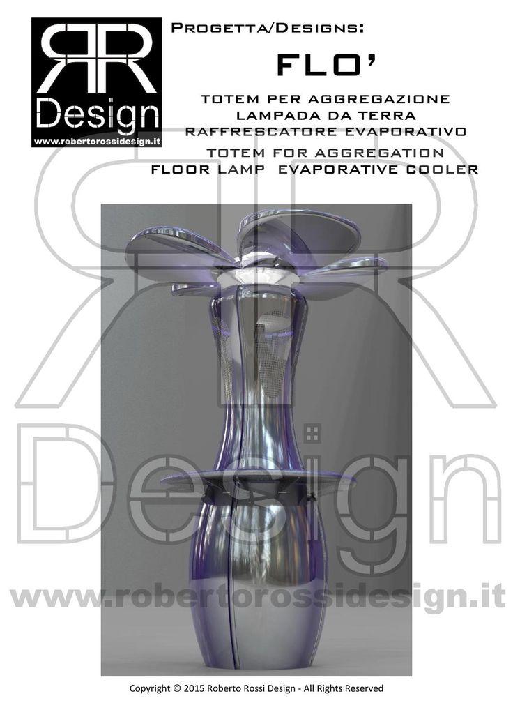 TOTEM FOR AGGREGATION - FLOOR LAMP - EVAPORATIVE COOLER