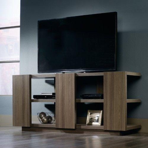 Sauder Woodworking International Lux Console TV Stand   Jet.com