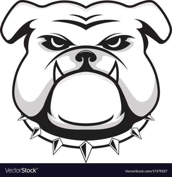 12 Bulldog Head Logo Bulldog Clipart Dog Vector Bulldog