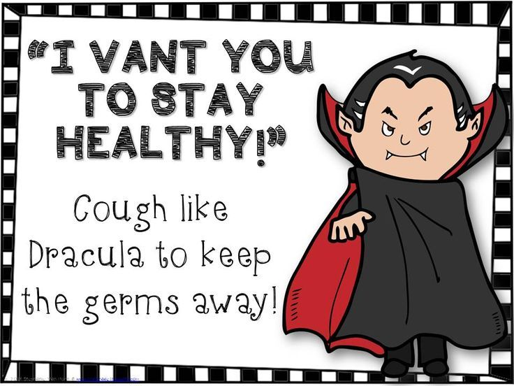 3rd Grade Thoughts - Keeping Healthy with Dracula Freebie
