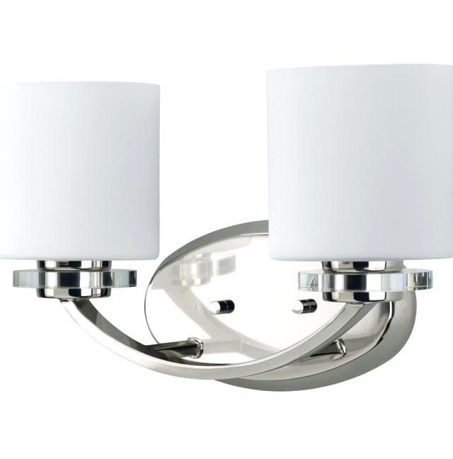 Bathroom Light Fixture With Outlet Plug Home Interior Design