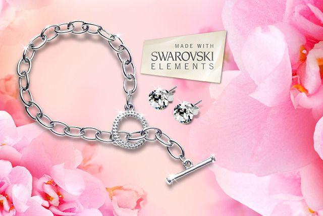 Tiffany-Inspired Bracelet & Earrings