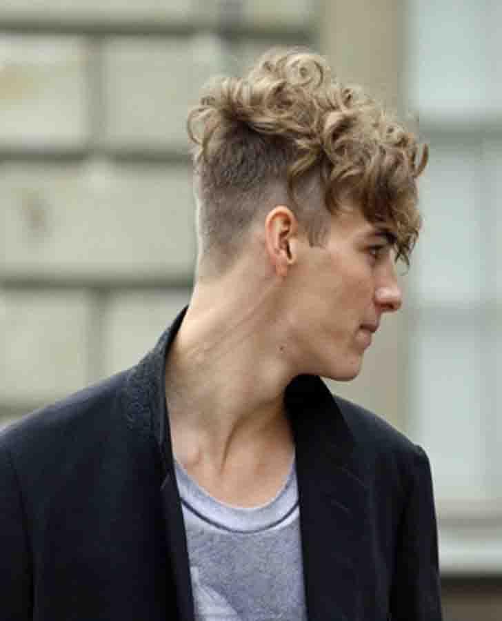 Cool Medium Blonde Mens Undercut Hairstyle Novels In 2019 Hair