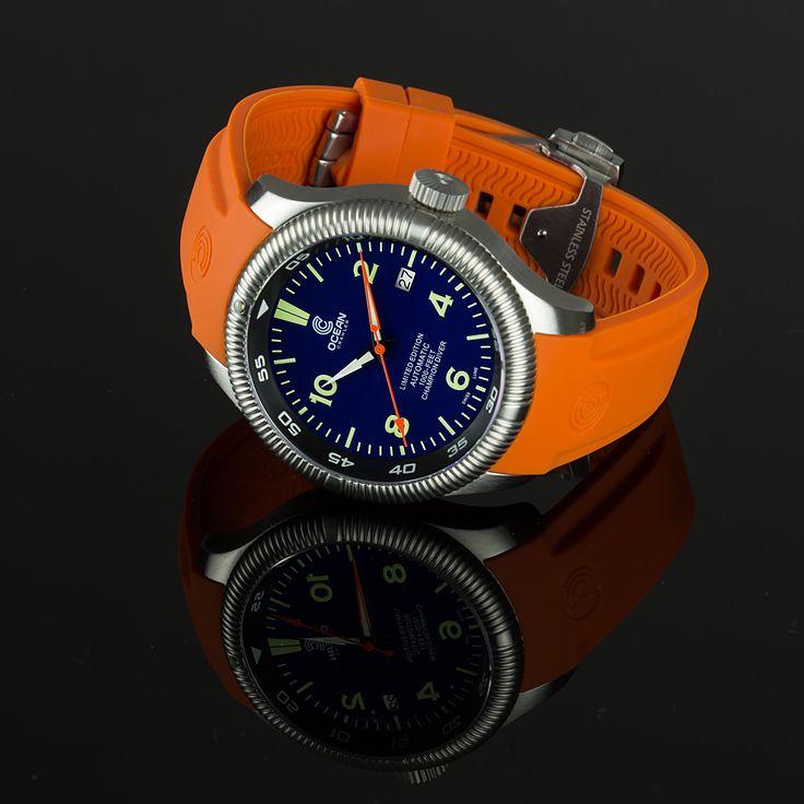 25 best ideas about diving watch on pinterest - Orange dive watch ...