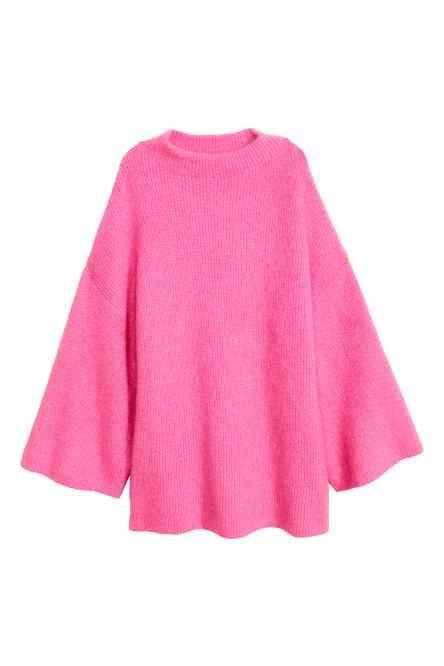 Knitted turtleneck jumper