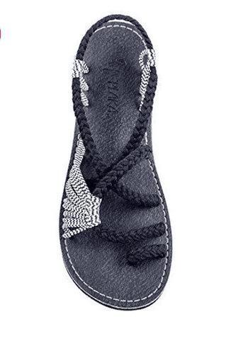 Women Sandals Plus Size 35-43 Comfortable Summer Shoes Woman Rome Style Beach Shoes Female Flat Sandals Ladies Chaussures Femme