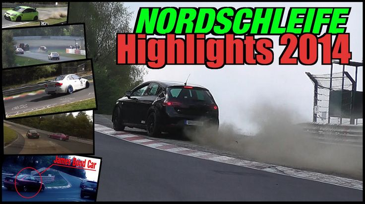 Nordschleife Highlights 2014