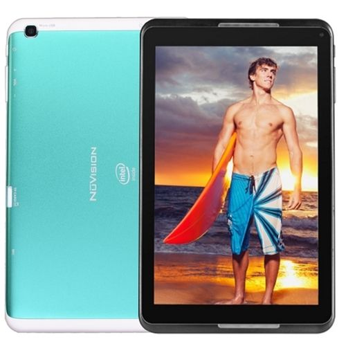 NuVision TM800A510L Intel Atom Z3735G Quad-Core 1.33GHz 1GB 16GB 8 1280x800 Capacitive IPS Tablet Android 4.4 (Teal)