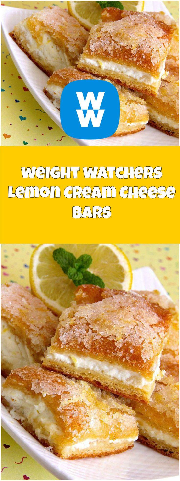 Lemon Cream Cheese Bars | weight watchers recipes | Page 2