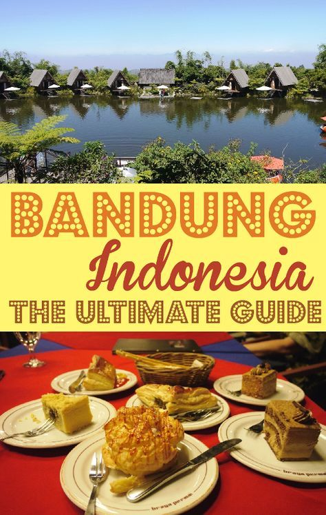 Visit Bandung, a beautiful city of Indonesia just a few hours drive from Jakarta.