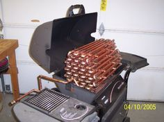 Extend Your Swimming Season with an Energy Efficient Pool Heater | Image from http://www.redneckpoolheater.com/