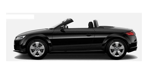 Audi TT Roadster 1.8 TFSI 132(180) kW(PS) S tronic steht für Purismus in seiner schönsten Form. Jetzt im Neuwagen Leasing bei fleetkonzept