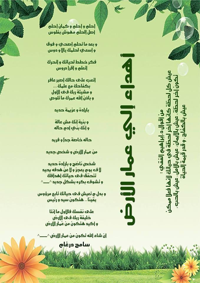 Pin By Sameh Dorgham On إحلم و إحلم و كمان إحلم شعر سامح درغام Calligraphy