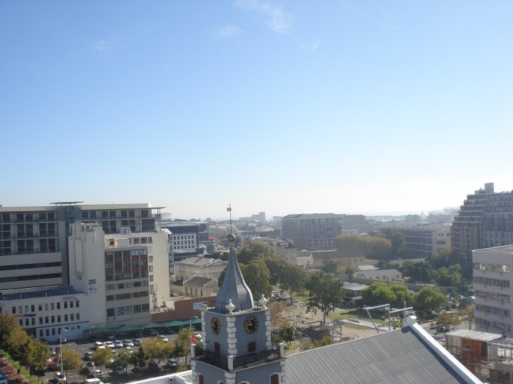 View from the top - Towards Green Point, with the Cape Town Stadium just visible