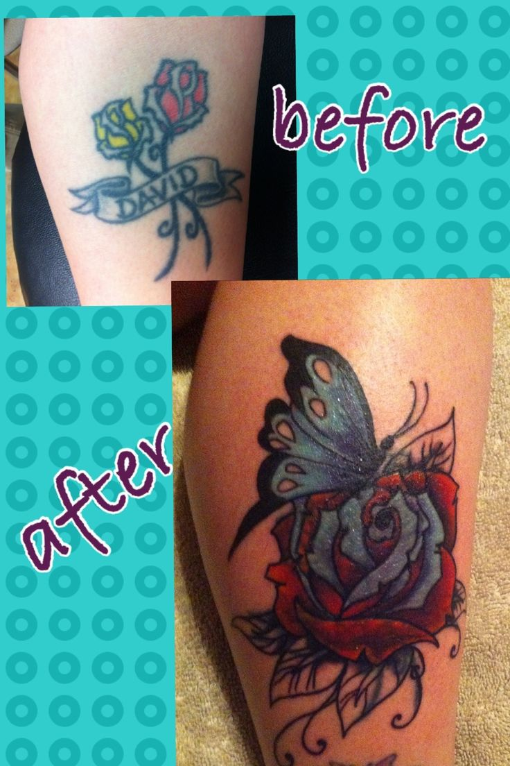Before and after coverup cover up tattoos healing