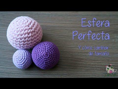 Como hacer una Esfera a crochet (How to crochet a sphere) - YouTube