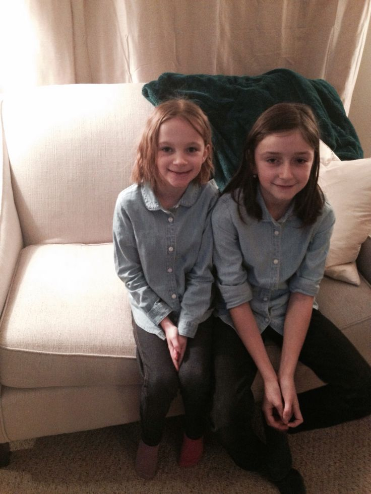 Granchillins in chambray!