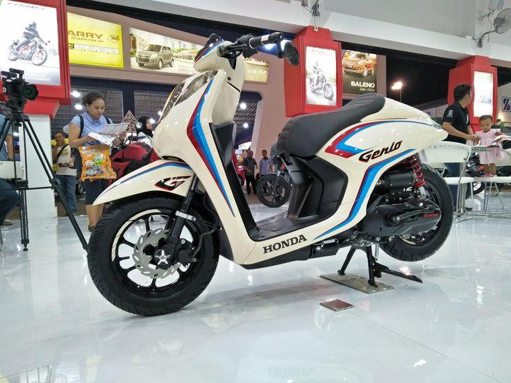 Modifikasi Honda Genio 110 Ala Caferacer Kendaraan Honda Mobil