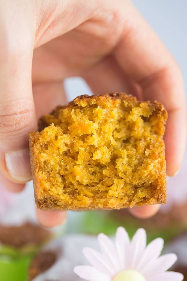 Karotten Dinkel Muffins