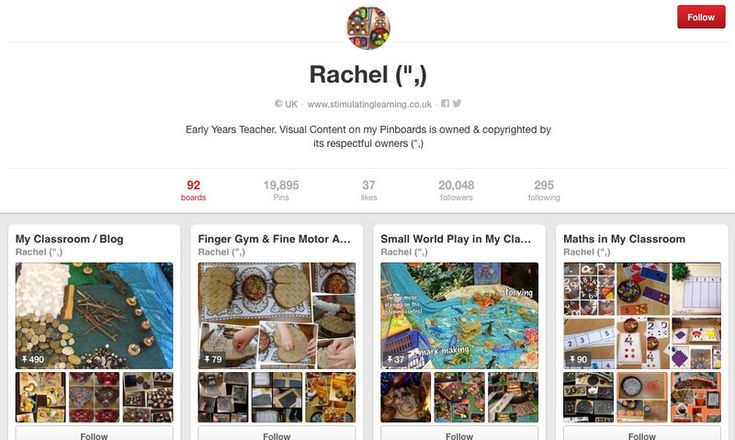 """Stimulating Learning with Rachel Pinterest Page ("""",)"""