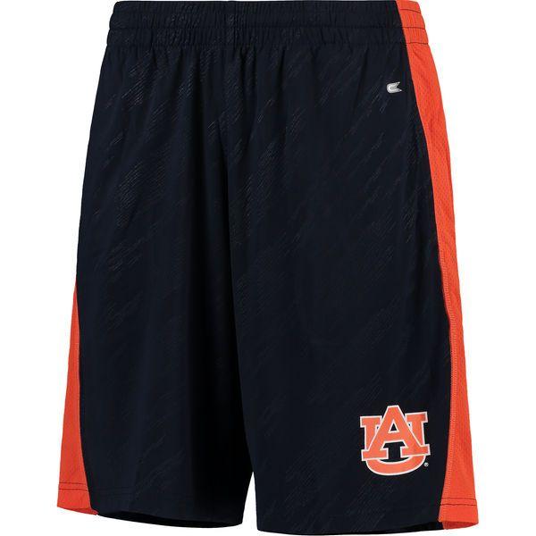 Auburn Tigers Colosseum Sleet Embossed Shorts - Navy - $25.99