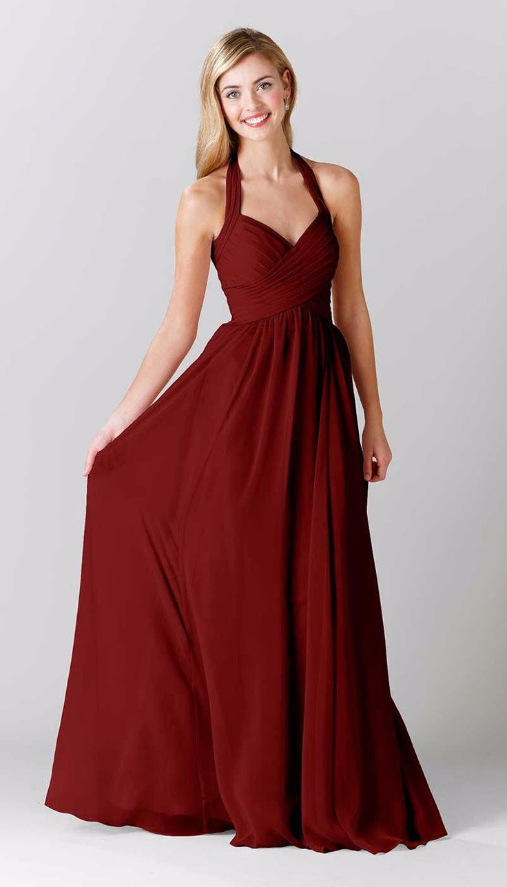 best images about burgundy bridesmaid dresses on pinterest