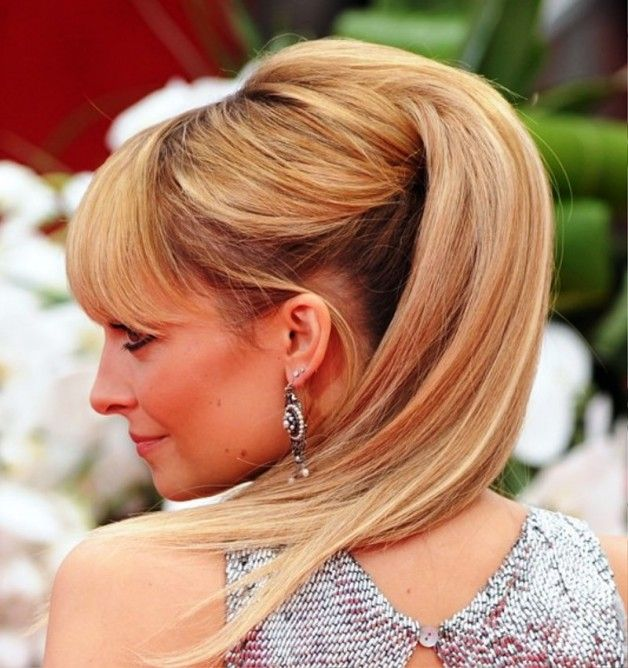 Nicole Richie Half Up Half Down For Wedding pictures, update your look with Wedding Hairstyles at Behairstyles.com