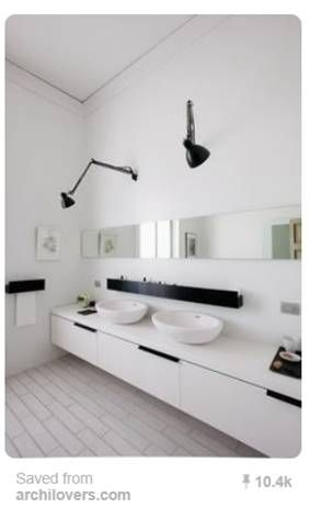 Best 25 horizontal mirrors ideas on pinterest comfort - Large horizontal bathroom mirrors ...