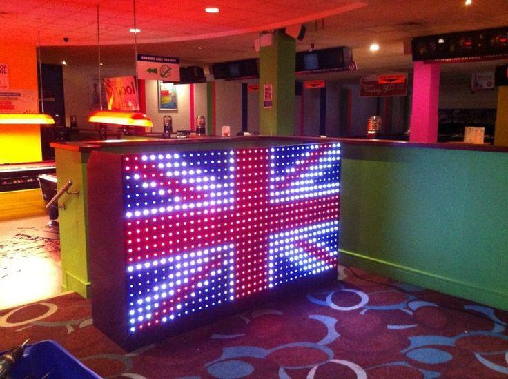 DJ Booth Union Jack
