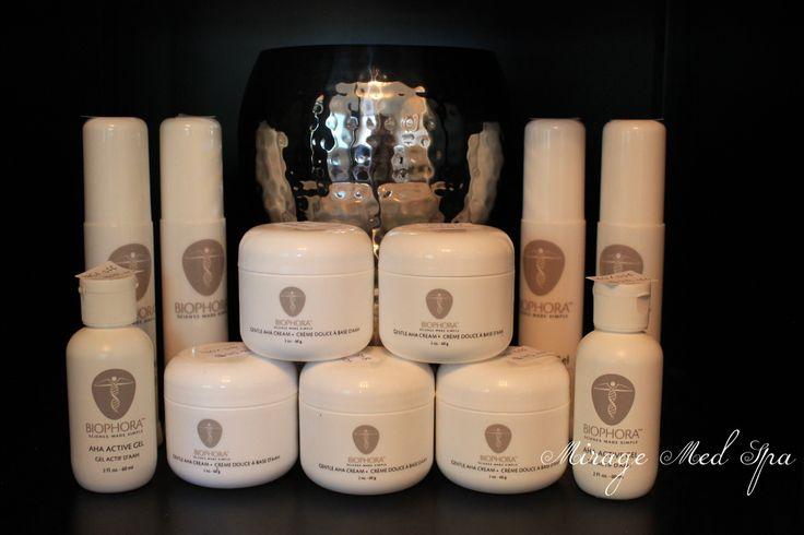 #Biophora Science Made Simple. Medically Advanced Skin Care. Offered exclusively at #MirageMedSpa #Barrie #spa #skincare www.miragemedspa.com