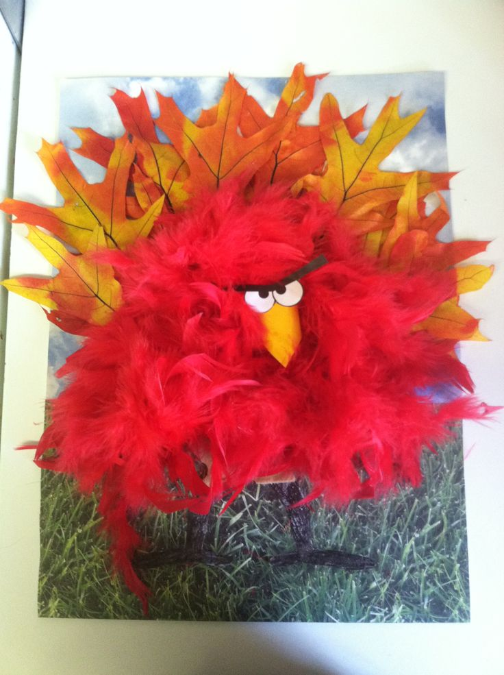 My son's Turkey Disguise for his family Turkey Project!  -SM