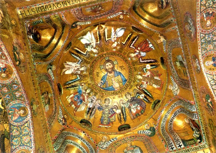 Palatine Chapel in Palermo. Mosaics, 1130-43